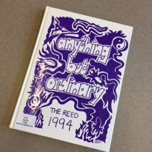 A picture of a 1994 Marshwood High School yearbook